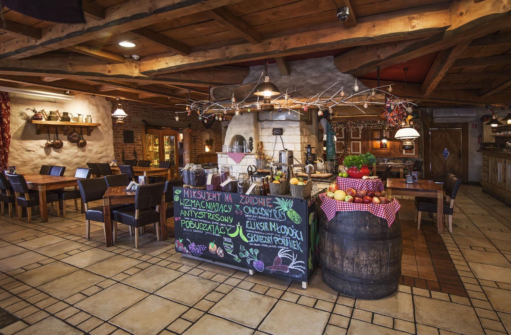 Restauracja Korona - Sala Wiejska